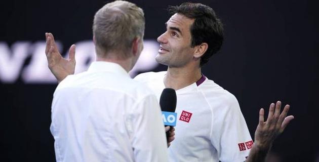 Федерер отыграл семь матчболов и вышел в 1/4 финала Australian Open
