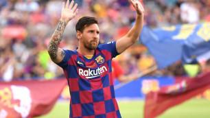 """Месси одержал 500-ю победу за """"Барселону"""" и забил 500-й гол в испанских турнирах"""