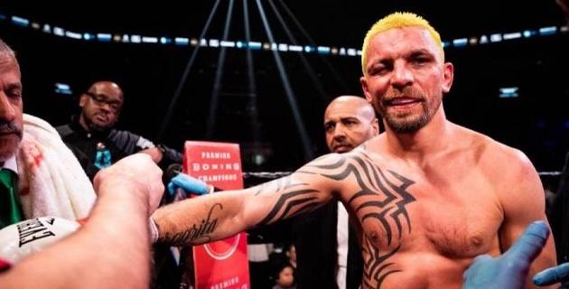 Боксер заработал дисквалификацию и штраф за укус соперника во время боя