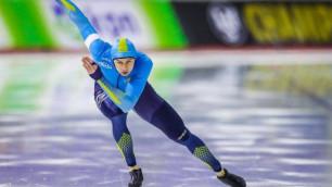 """Казахстанцы завоевали пять медалей в стартовый день первого в истории """"Турнира четырех континентов"""" по конькобежному спорту"""