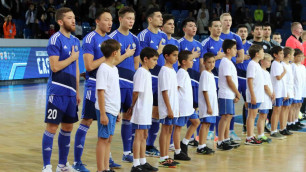 Сборная Казахстана по футзалу стартовала с поражения в элитном раунде отбора на ЧМ-2020