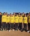Команда незрячих футболистов из Казахстана сыграла на турнире Хабиба Нурмагомедова