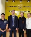 В Алматы открылся третий филиал академии шахмат Жансаи Абдумалик