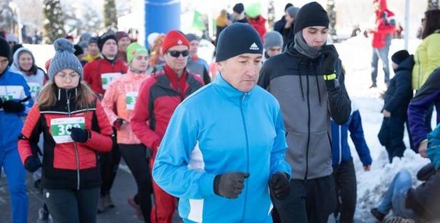 В Алматы пройдет Зимний забег