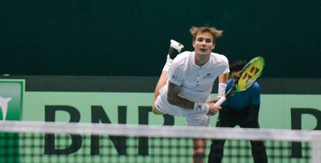 Бублик вышел во второй круг турнира во Франции
