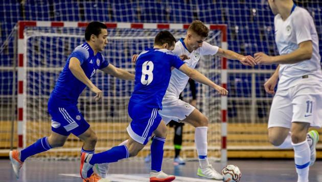 Словения за две минуты отыгралась с 1:4 и облегчила Казахстану задачу по выходу на ЧМ-2020 по футзалу