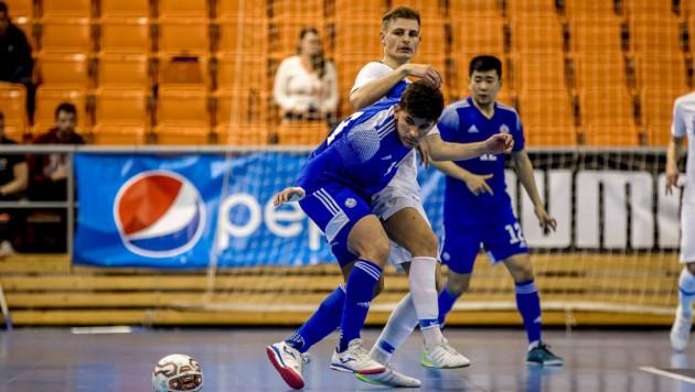 Сборная Казахстана за стартовые четыре минуты забила три гола в решающем матче за ЧМ-2020 по футзалу