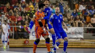 Видео голов, или как сборная Казахстана разгромила Чехию и вышла на ЧМ-2020 по футзалу