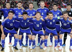 Как сборная Казахстана по футзалу радовалась выходу на чемпионат мира-2020