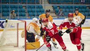 Предолимпийский турнир по хоккею в Нур-Султане открылся с разгромной победы