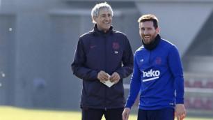 """Тренер """"Барселоны"""" сделал заявление о будущем Месси в клубе"""