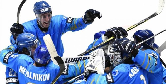 Сборная Казахстана по хоккею одержала разгромную победу на старте отбора на Олимпиаду-2022