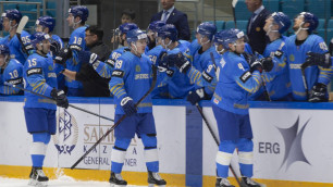 Видео всех шайб, или как сборная Казахстана по хоккею победила разгромно на старте отбора на ОИ-2022