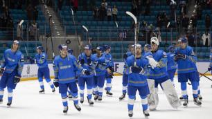 Видеообзор матча, или как сборная Казахстана победила разгромно на старте отбора на Олимпиаду-2022