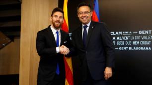 """Месси захотел отставки президента """"Барселоны"""""""