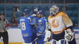 Сборная Казахстана по хоккею одержала вторую разгромную победу в отборе на Олимпиаду-2022