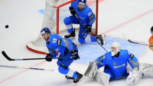 Сборная Казахстана по хоккею сделала камбэк с 0:2, но проиграла и осталась без Олимпиады-2022