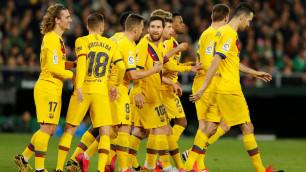 """Месси отдал три голевые передачи и принес """"Барселоне"""" волевую победу"""