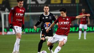 Казахстанский футболист Жуков назвал отличие чемпионата Польши от КПЛ после дебюта в новом клубе