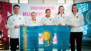 Женская сборная Казахстана по теннису узнала соперника за право остаться в мировой группе Кубка Федерации