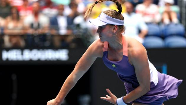 20-летняя теннисистка из Казахстана отыгралась с 1:3 и 0:3 и вышла в четвертьфинал турнира WTA в России