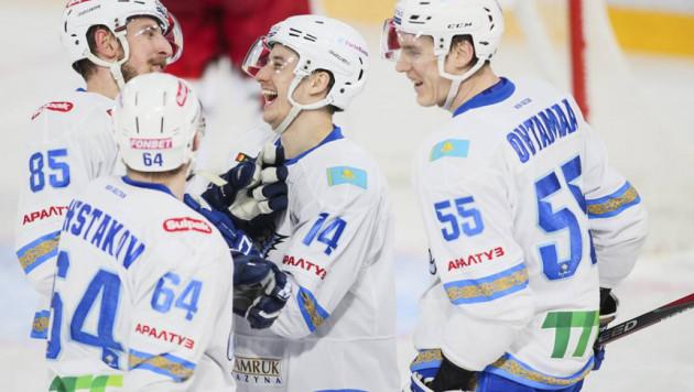 """""""Барыс"""" одержал волевую победу над лидером КХЛ и выиграл пятый подряд матч"""