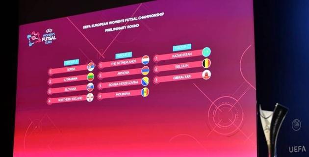 Женская сборная Казахстана по футзалу узнала соперников в отборе на Евро