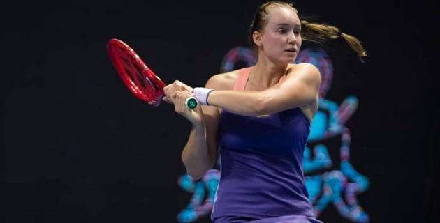 Первая ракетка Казахстана вышла в третий подряд финал турнира WTA