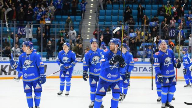 """""""Барыс"""" обеспечил себе преимущество в плей-офф КХЛ после шестой подряд победы"""