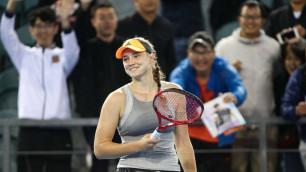 Казахстанская теннисистка официально впервые в истории вошла в ТОП-20 рейтинга WTA
