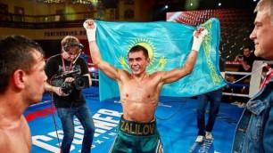 Казахстанский боксер узнал соперника на первый бой после полутора лет простоя
