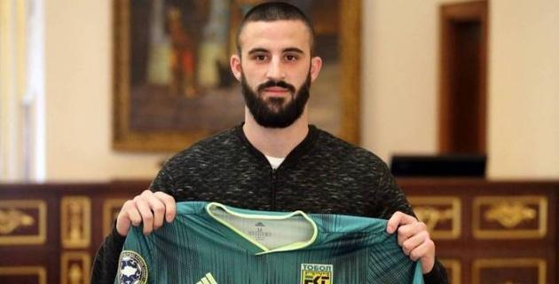 """Тобол"" объявил о переходе македонского футболиста"
