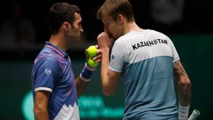 Первая ракетка Казахстана стартовал с победы на турнире ATP во Франции