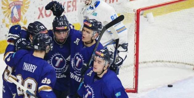Казахстанский клуб узнал соперника по первому раунду плей-офф ВХЛ