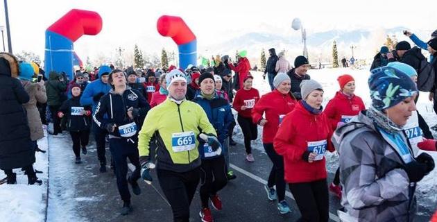 В Алматы частично перекроют проспект Аль-Фараби в связи с проведением Зимнего забега