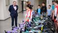 Президент Казахстанской федерации Нурлан Смагулов посетил новую велобазу в Алматы