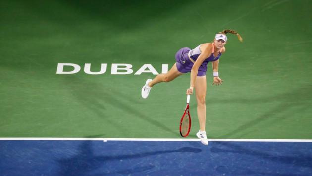 Горжусь, что смогла добиться такого результата - первая ракетка Казахстана о финале турнира WTA в Дубае