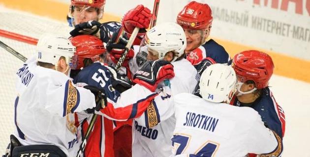 """Хоккеисты """"Торпедо"""" из Усть-Каменогорска проиграли матч плей-оффа на 18-й минуте овертайма"""