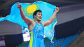 Казахстан завершил чемпионат Азии по вольной борьбе с двумя золотыми медалями