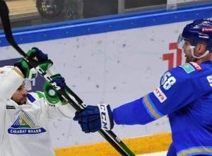"""""""Барыс"""" лишился самого высокого игрока КХЛ перед плей-офф"""