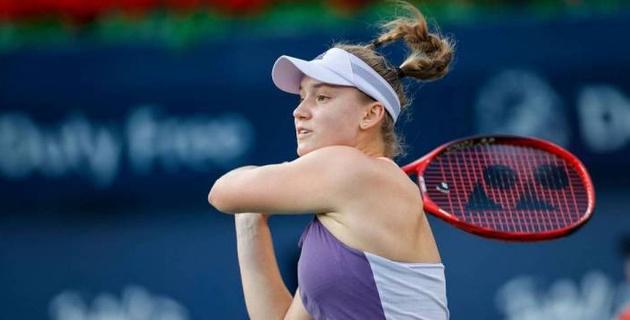 20-летняя казахстанская теннисистка заработала свой первый миллион в карьере