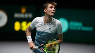 Казахстанец Бублик стартовал с победы на турнире ATP