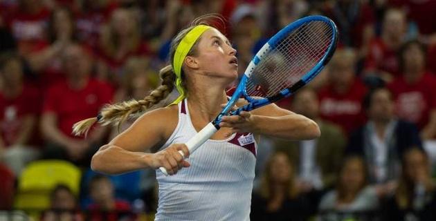 Казахстанка Путинцева победила первую ракетку Бельгии на турнире WTA Premier в Катаре