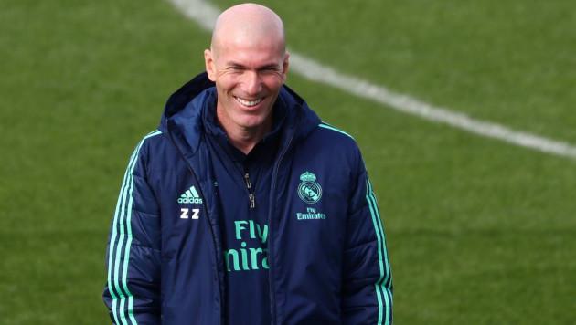 Зидан назвал лучшего тренера мира