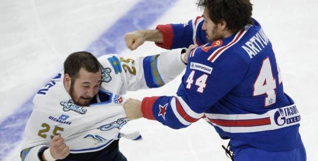 Глава Fight Nights Global планировал организовать бой с участием казахстанского хоккеиста Рыспаева