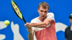 Казахстанец Бублик потерпел поражение на турнире ATP в Дубае