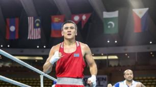 Названы дата и место дебюта чемпиона Азии и призера ЧМ-2019 по боксу из Казахстана в профи
