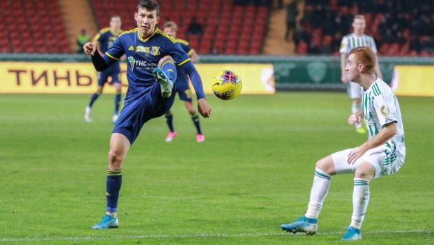 Казахстанец Зайнутдинов стал лучшим игроком тура РПЛ по выигранным единоборствам
