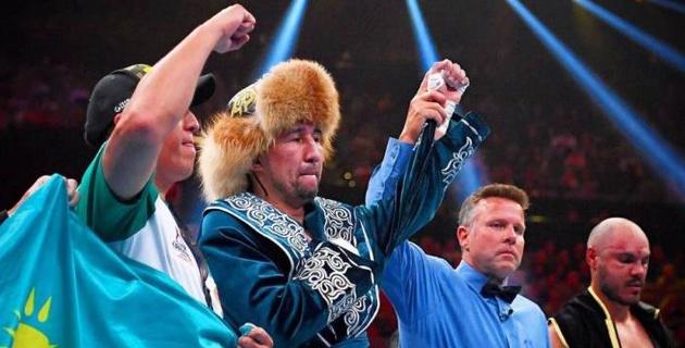Обладатель трех титулов из Казахстана остался вторым в рейтинге WBA