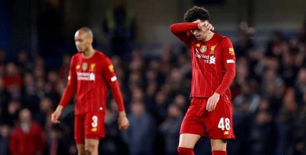 """""""Ливерпуль"""" впервые с ноября 2014 года проиграл в гостях три матча подряд и вылетел из Кубка"""